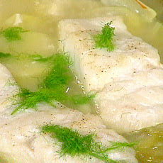 Cod with Fennel and Onion