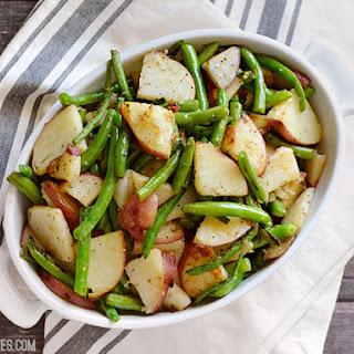 Skillet Potatoes Green Beans Recipes