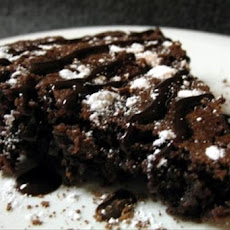 4-Minute Brownie Pie