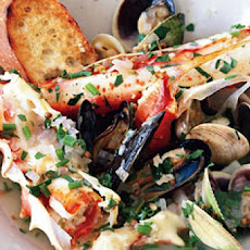 Roasted Shellfish with Coriander, Fennel, and Meyer Lemon