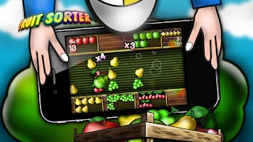Screenshot of Fruit Sorter