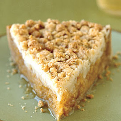 Apple Streusel Tart with Honey Crust