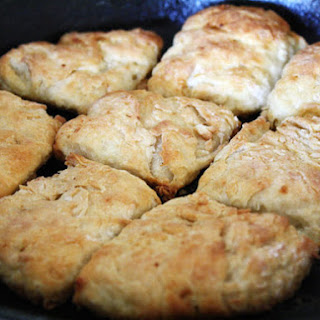 Skillet Biscuits with Lamb Fat