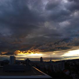 by Milenka Tatalovic - City,  Street & Park  Skylines