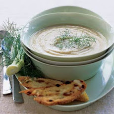 Fennel and Comice Pear Soup