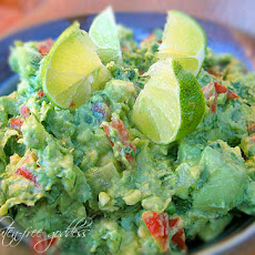Joey's Kicked Up Rockin' Guacamole Recipe with Tomatillos + Lime