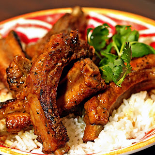 Cinnamon Coconut Curry Pork Ribs