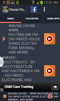 Screenshot of House Radio