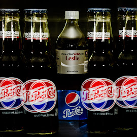 Angry Pepsi by Leslie Ippolito - Food & Drink Alcohol & Drinks ( blur doublexposure bottles, leslie, pepsi coke )