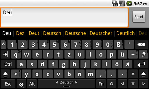 German dictionary Deutsch