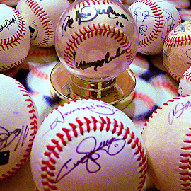 How Much??? by Cheryl Beaudoin - Sports & Fitness Baseball ( professionals, balls, baseball, ballgame, players, sports, signatures,  )