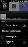 Screenshot of Lightning Launcher - Slovak