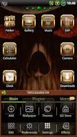 Screenshot of Wood Skull GO launcher EX