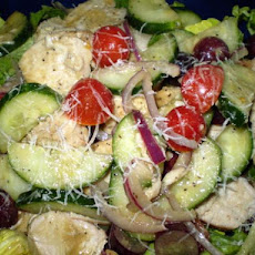 High Protein Greek Chicken Salad