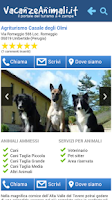 Screenshot of Vacanze con Animali e Cani