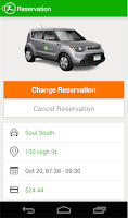 Screenshot of Zipcar for Android