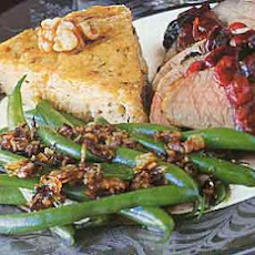Green Beans with Balsamic-Shallot Butter