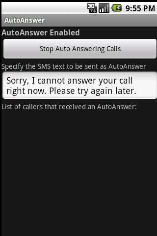 Auto Answer