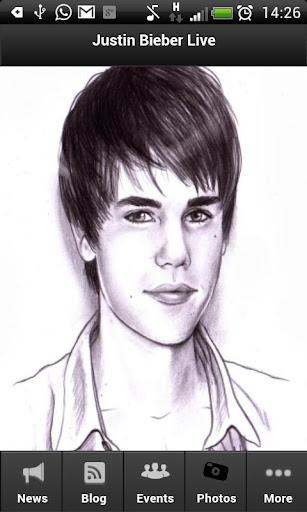 Justin Bieber Fan App Live
