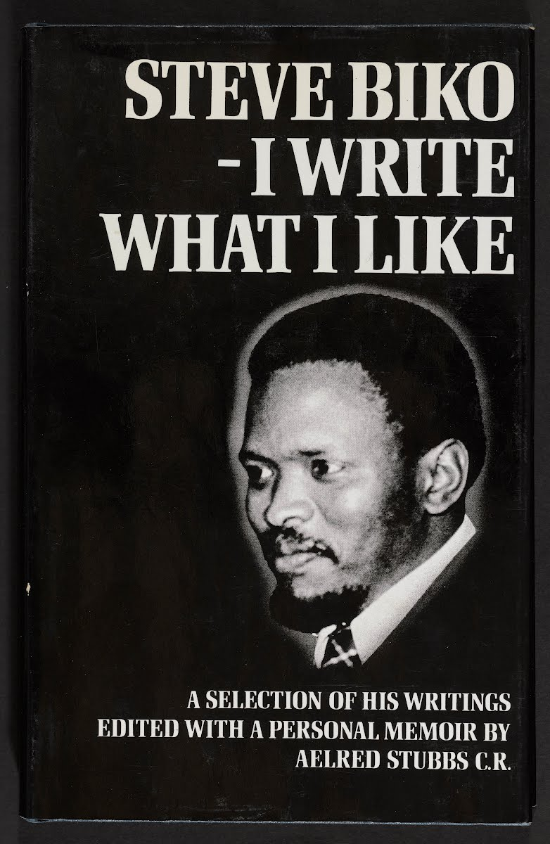 Stubbs, who later became Biko's friend, edited some of his writings into a book titled, I Write What I Like, a publication containing Biko's writings between the ages of 18 and 29