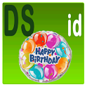 Happy Birthday - International icon