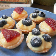Ww 1 Point - Quick Berry Tartlets