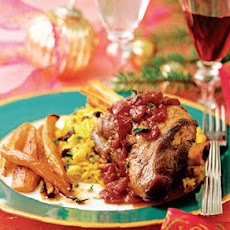 Spiced Ruby Lamb Shanks
