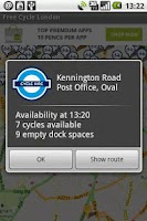 Screenshot of Free Cycle London