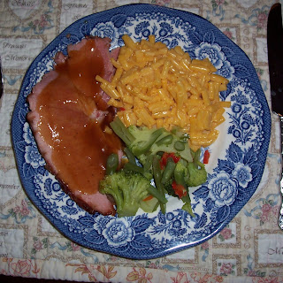 Baked Ham with Coca Cola & Orange Gravy