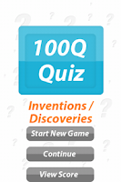 Screenshot of Inventions - 100Q Quiz