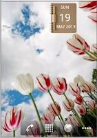 Screenshot of NoteBook Calendar Widget
