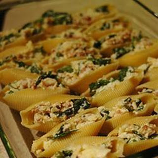 Italian Sausage and Spinach Cannelloni