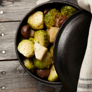 Roasted Brussels Sprouts Turnips Recipes