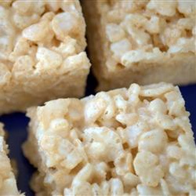Marshmallow Crispie Bars