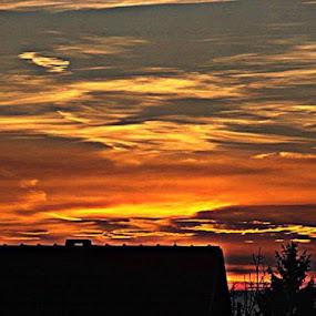 by Nat Bolfan-Stosic - Landscapes Sunsets & Sunrises ( hill, bright, colors, sunrise, miss )