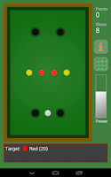 Screenshot of Crazy Billiards