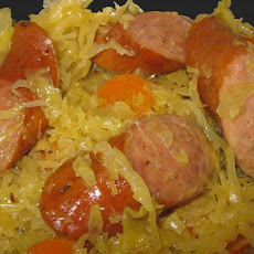 Sauerkraut With Polish Sausage