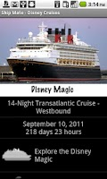 Screenshot of Ship Mate - Disney Cruise Line