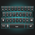 Sleek Cyan Keyboard Skin icon