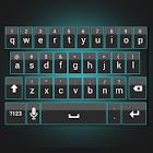 Sleek Cyan Keyboard Skin icon