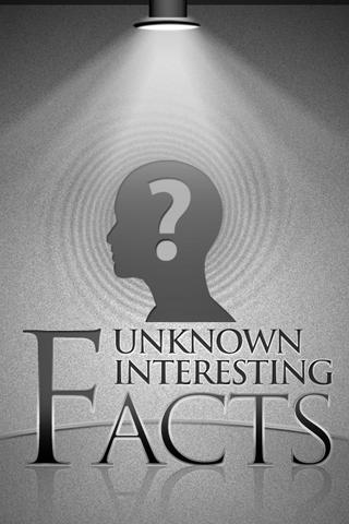 Unknown Interesting Facts