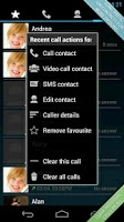 Screenshot of Swipe Dialer Free