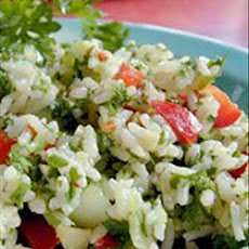 Fruit and Nut Curried Rice Salad