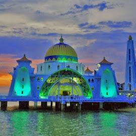 Big mosque by Carez English - Buildings & Architecture Architectural Detail
