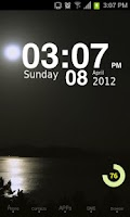 Screenshot of Moonriver Theme GO Launcher EX