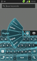 Screenshot of Neon Keyboard for Samsung