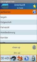 Screenshot of Englisch Lernen und  Sprechen