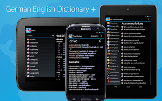Screenshot of German English Dictionary +
