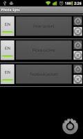 Screenshot of Photo Sync