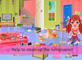 Screenshot of Alice messy house clean up